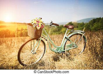 fiets, romantische