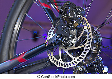 fiets, schijf, rem
