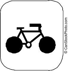 fiets, vector
