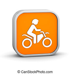fiets, vuil, meldingsbord