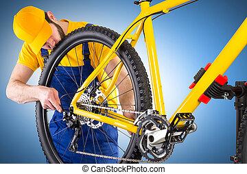 fiets, werktuigkundige
