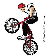 fietser, extreem
