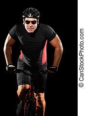 fietser, fietsende