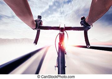 fietser, snelheid