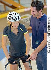 fietser, trainer