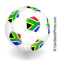 fifa, bola, copo, áfrica, mundo, 2010, sul