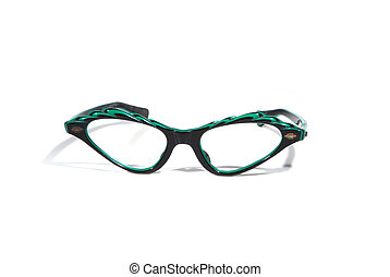 Fifties eyeglasses - Fifties upswept retro eyeglasses...