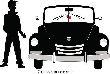 fifties roadster