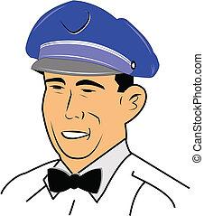 fifties service employee
