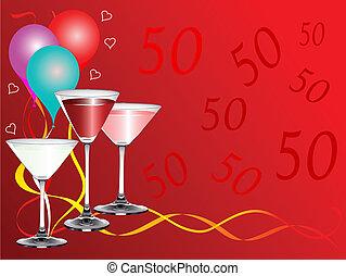 Fiftieth Bithday Party - A fiftieth birthday party...