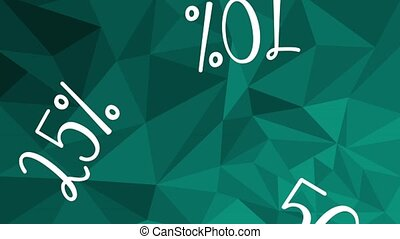 fifty and twenty five percents discounts HD animation -...
