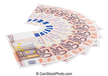 Fifty euro fan