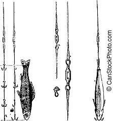 Fig 1 Fish bait and the two systems to kill the devil, Fig 2...