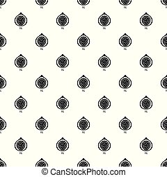 Fig pattern seamless vector repeat geometric for any web...