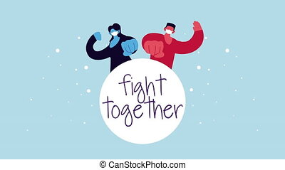 fight together campaign for covid19
