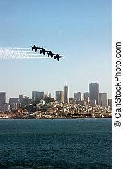 Fighter Jets over San Francisco