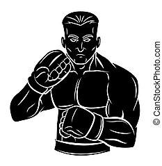 Fighter man