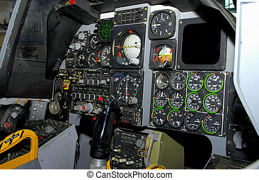 Cockpit - Fighter Plane Cockpit