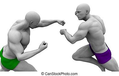 Fighting or Warrior Spirit