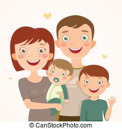 figli, famiglia