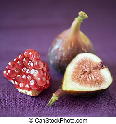 figs and pomgranate
