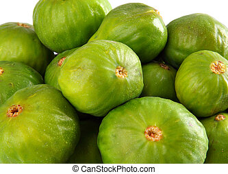 Figs fruit studio isolated over white background