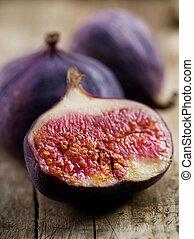Figs Fruits close-up