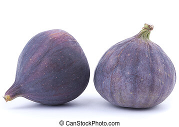 Figs on a white background.