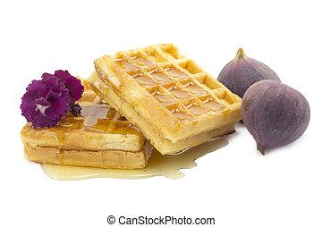 figs, waffle