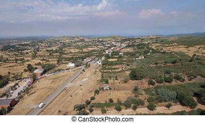 Figueruela de Arriba aerial view, Zamora
