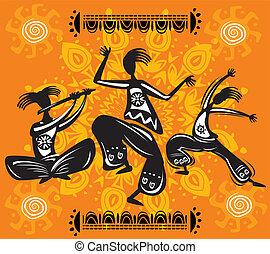 figuras, bailando