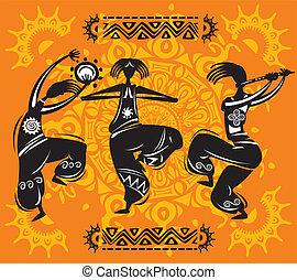 figuras dançantes