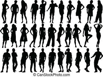 figuras, humano