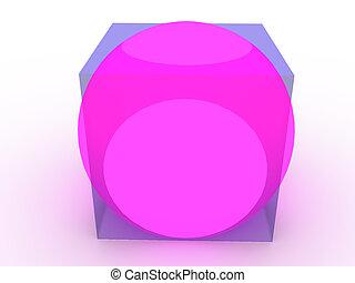 figure., 3次元である