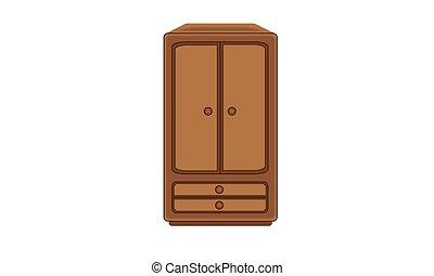 Figure closet wooden furniture