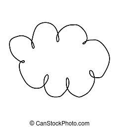 figure clound network service icon