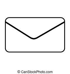 figure e-mail message icon