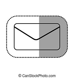 figure e-mail message icon