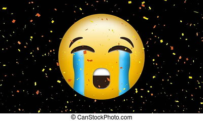 figure, emoji, pleurer