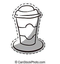 Figure espresso coffee image icon