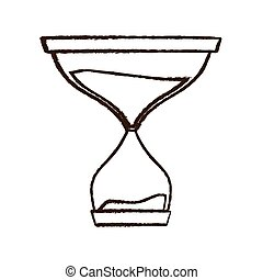 figure hourglass icon image