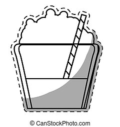 Figure mocha glass icon image