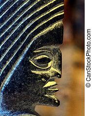 figure of a old culture in peru - figure, of a old culture ...