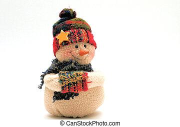 figure of a snow-man
