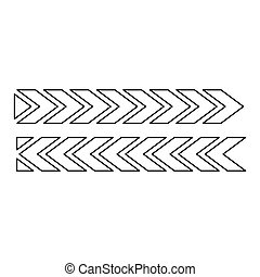 Figure of cars tire tracks design