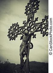 Figure of Christ on the Cross