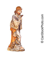 Figure of Saint Joseph of the Nativity scene