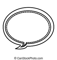 figure round chat bubbles icon