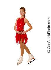 Figure Skater in Costume