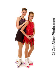 Figure Skaters Pair